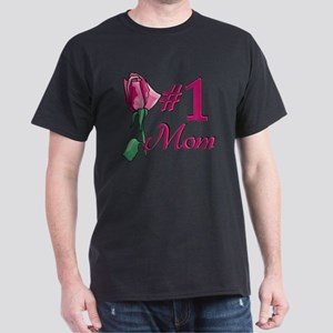 #1 Mom Dark T-Shirt