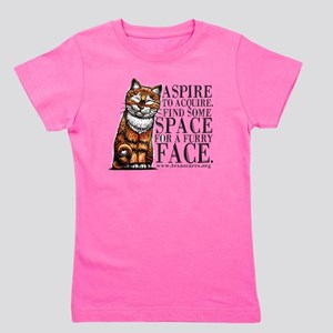aspire_to_acquire_CLRLogo Girl's Tee