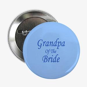 Grandpa Of The Bride Wedding Button