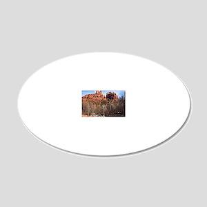 2-CathR1covsm 20x12 Oval Wall Decal