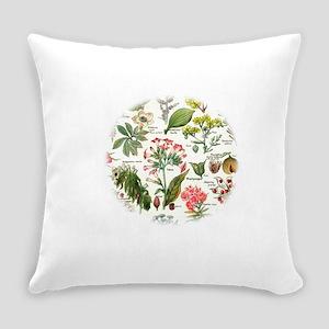 Botanical Illustrations - Larousse Everyday Pillow