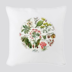Botanical Illustrations - Laro Woven Throw Pillow