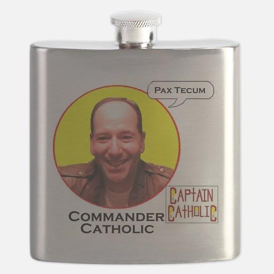 Commander Catholic - Character Spotlight -  Flask
