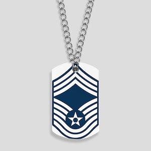 USAF-CMSgt-Blue Dog Tags
