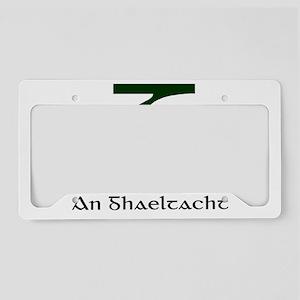 Gaeltacht License Plate Holder