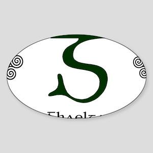 Gaeltacht2 Sticker (Oval)