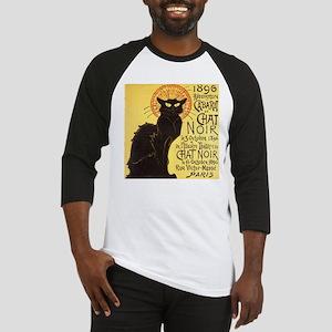 Chat Noir Cat Baseball Jersey