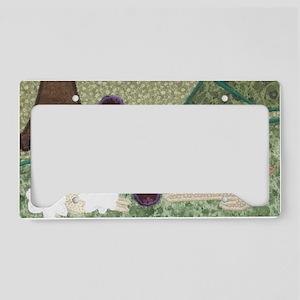 PlayingOutdoors_MM_3x2 License Plate Holder