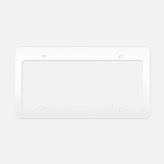 Croquet Player copy License Plate Holder