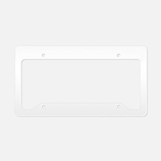 Double Bassist copy License Plate Holder