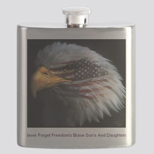 eagle with text Flask