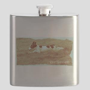 Flying Rat Terrier Flask