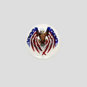 2-FLAGEAGL2 Mini Button