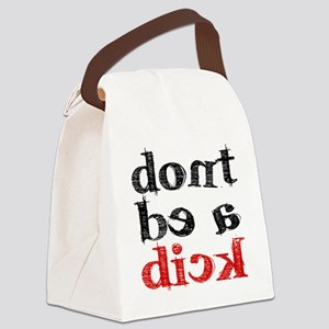 dick Canvas Lunch Bag