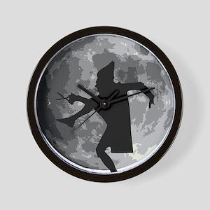 moon cretin Wall Clock