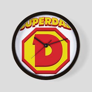 SuperDad Wall Clock
