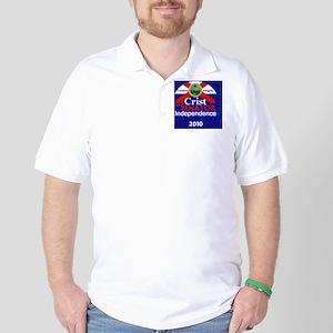 CristIndep1 B Card Golf Shirt