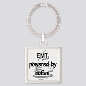 EMT and coffee Square Keychain