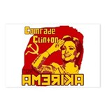 Comrade Clinton Postcards (Package of 8)
