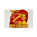 Comrade Clinton Rectangle Magnet