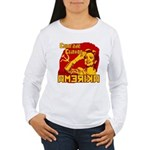 Comrade Clinton Women's Long Sleeve T-Shirt