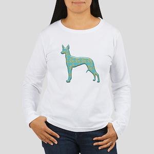 Paisley Pharaoh Women's Long Sleeve T-Shirt