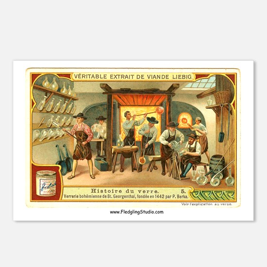 Historic Glass Shop Postcards (Package of 8)