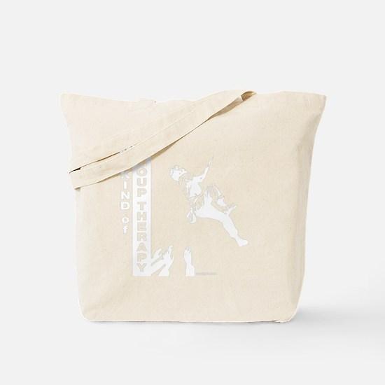 mykindofgrouptherapy2_CPDark Tote Bag