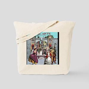 Commedia Plus Womens Tshirt Tote Bag