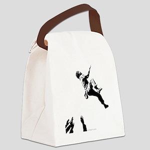bouldererandspotters2 Canvas Lunch Bag