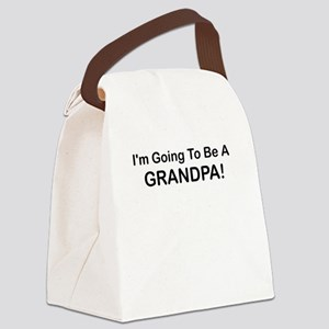 IM GOING TO BE A GRANDPA Canvas Lunch Bag