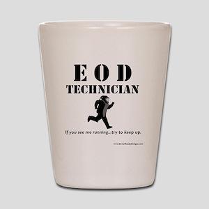 eod tech light Shot Glass
