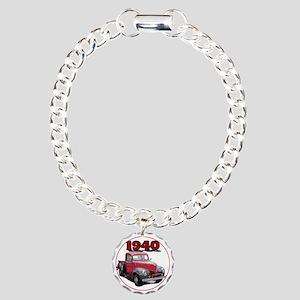 40Fordpick-C8trans Charm Bracelet, One Charm