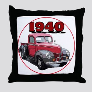 40Fordpick-C8trans Throw Pillow