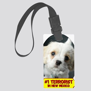 Terrorist Large Luggage Tag