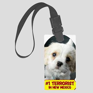 terroristmousepad Large Luggage Tag