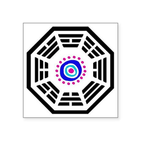 """Dharma Oc Square Sticker 3"""" x 3"""""""