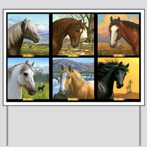 HORSE DIARIES POSTER Yard Sign