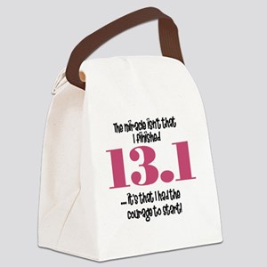 run13 Canvas Lunch Bag