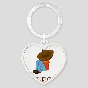 relax Heart Keychain