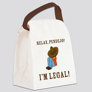 relax Canvas Lunch Bag