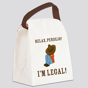 relax2 Canvas Lunch Bag