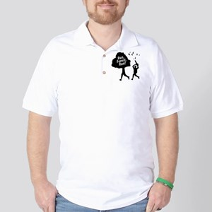 Run Forest Run Golf Shirt