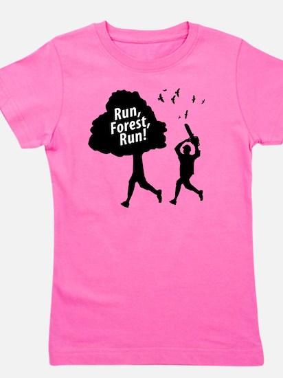 Run Forest Run Girl's Tee