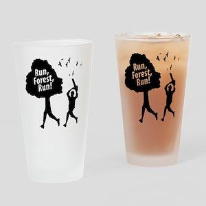 Run Forest Run Drinking Glass
