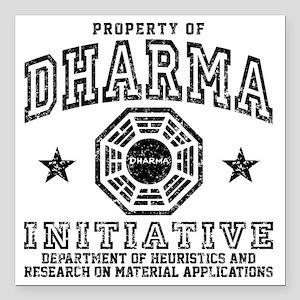 "Prop Dharma Square Car Magnet 3"" x 3"""