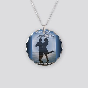 Your One and Only Rect Magne Necklace Circle Charm