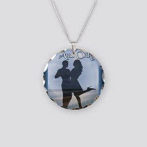 Your One and Only Mouse Pad Necklace Circle Charm