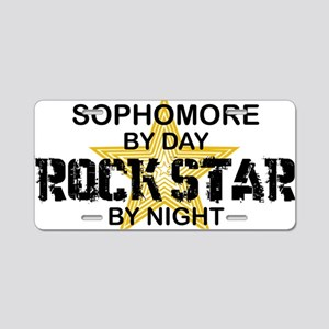 SOPH Aluminum License Plate