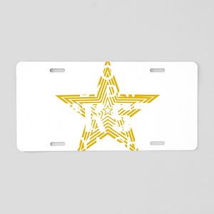 SOPH WHT Aluminum License Plate